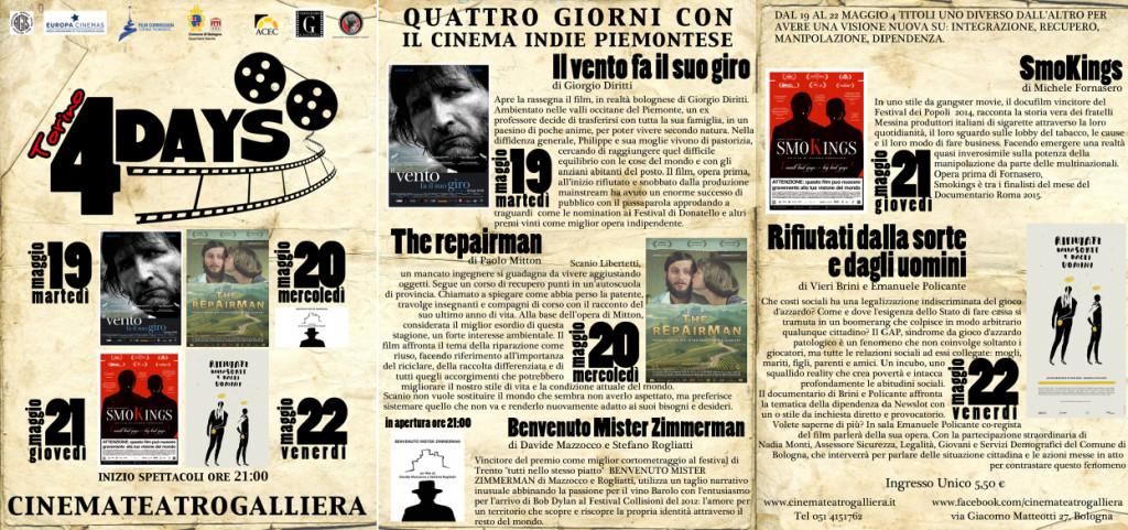 Torino 4Days 19-22 maggio programma