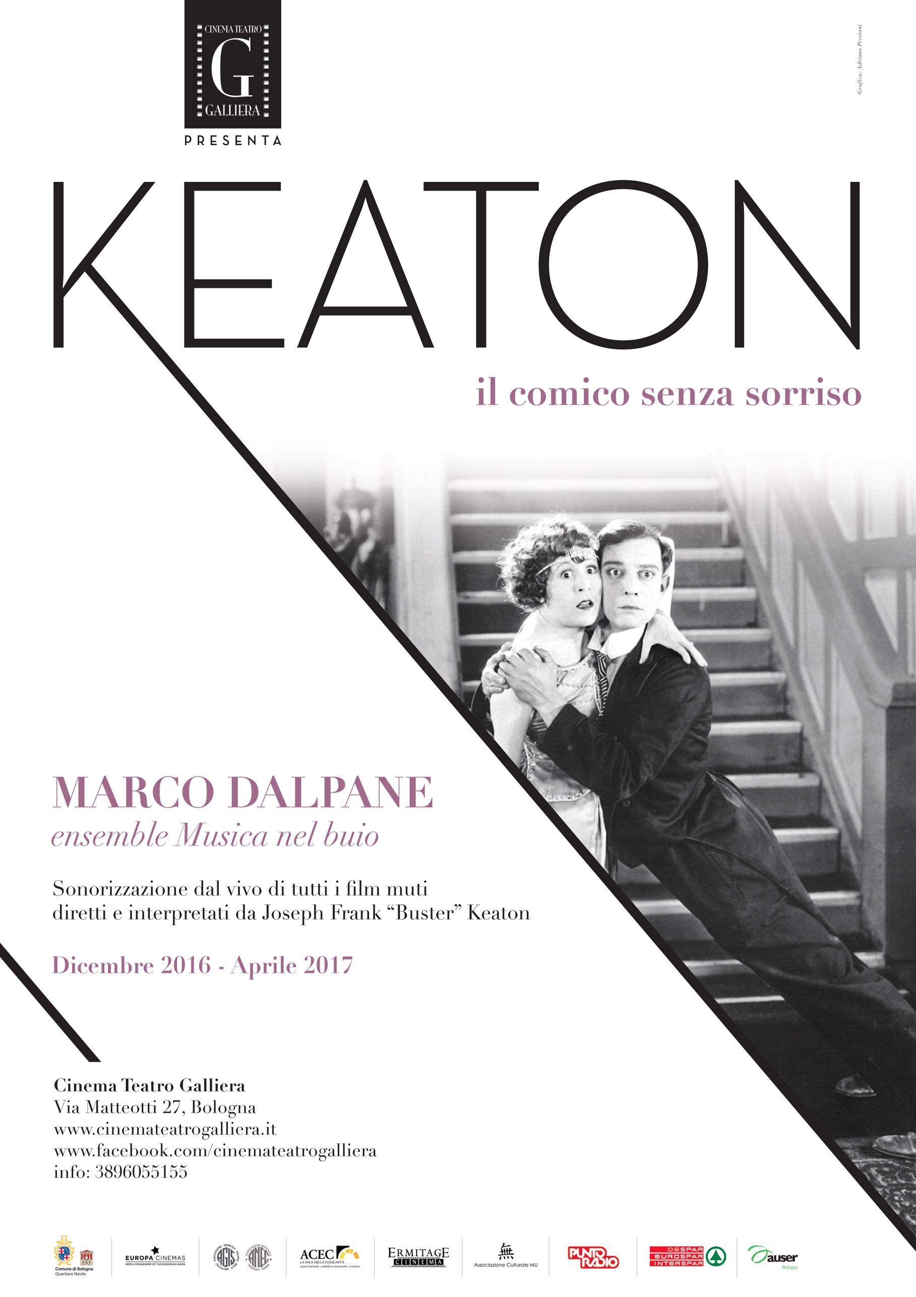KEATON IL COMICO SENZA SORRISO