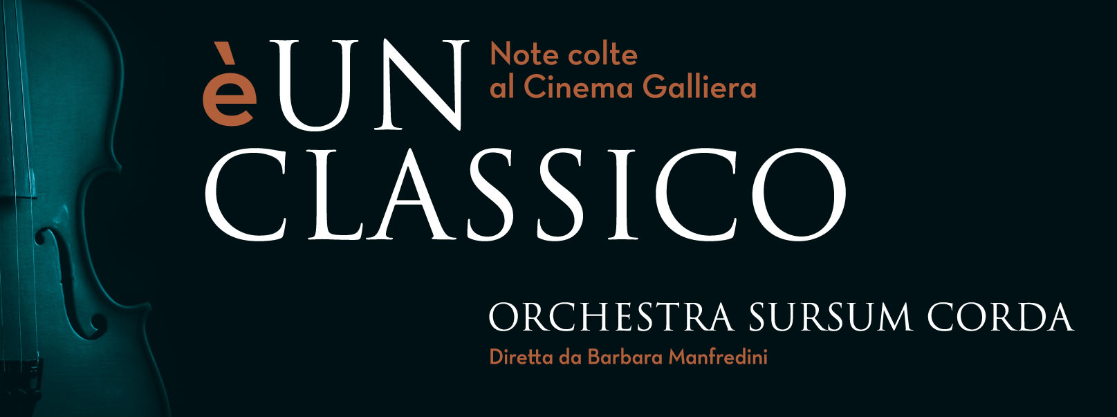 COVER  E' UN CLASSICO.indd