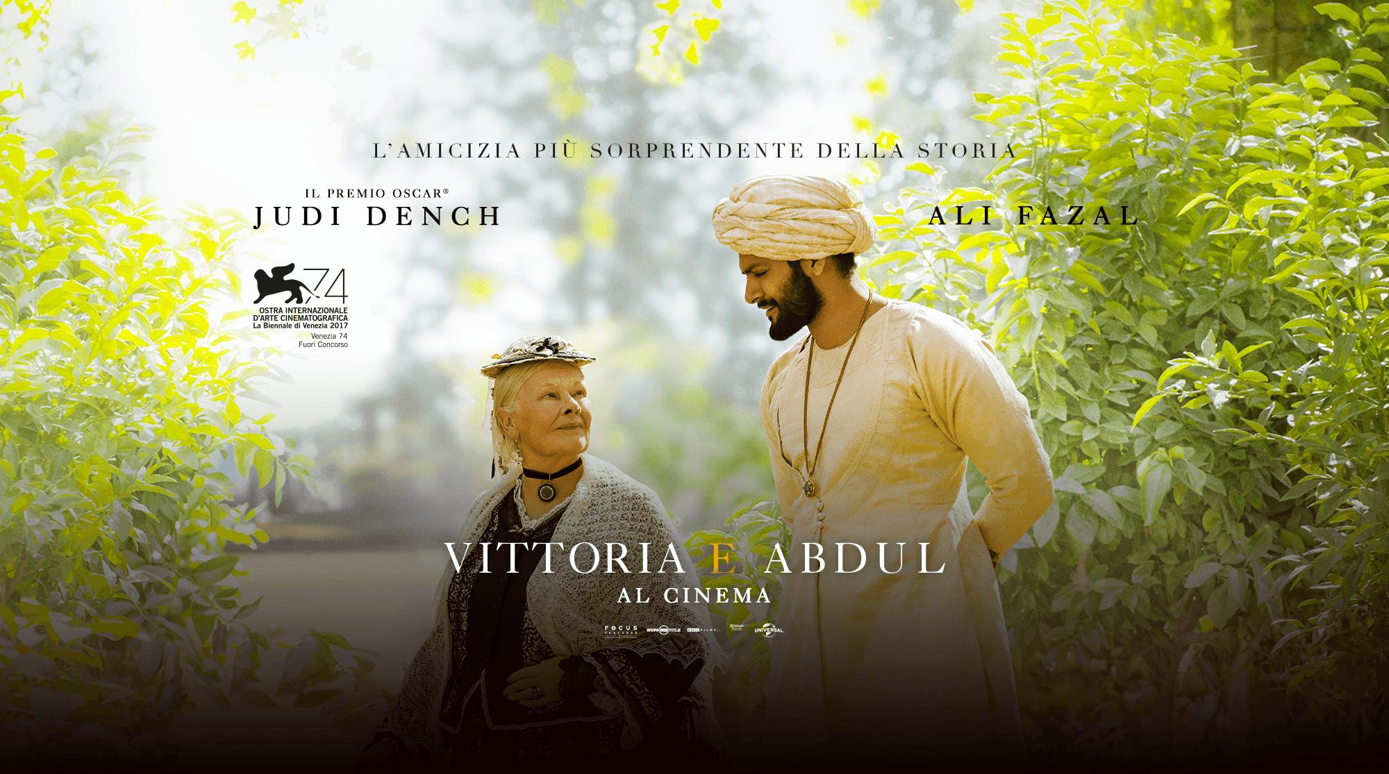Vittoria E Abdul Cinema Teatro Galliera